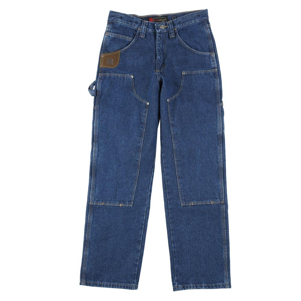 ea03b4bd Wrangler Men's Relaxed Fit Utility Jean-3W030AI - The Home Depot