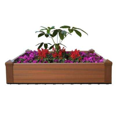 43.2 In. X 43.2 In. Composite Lumber Patio Raised Garden Bed Kit ...