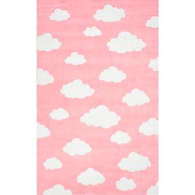 Cloudy Sachiko Pink 4 Ft X 6 Area Rug