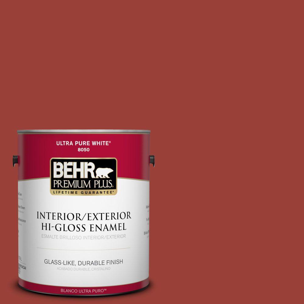 S H 190 Antique Red Hi Gloss Enamel