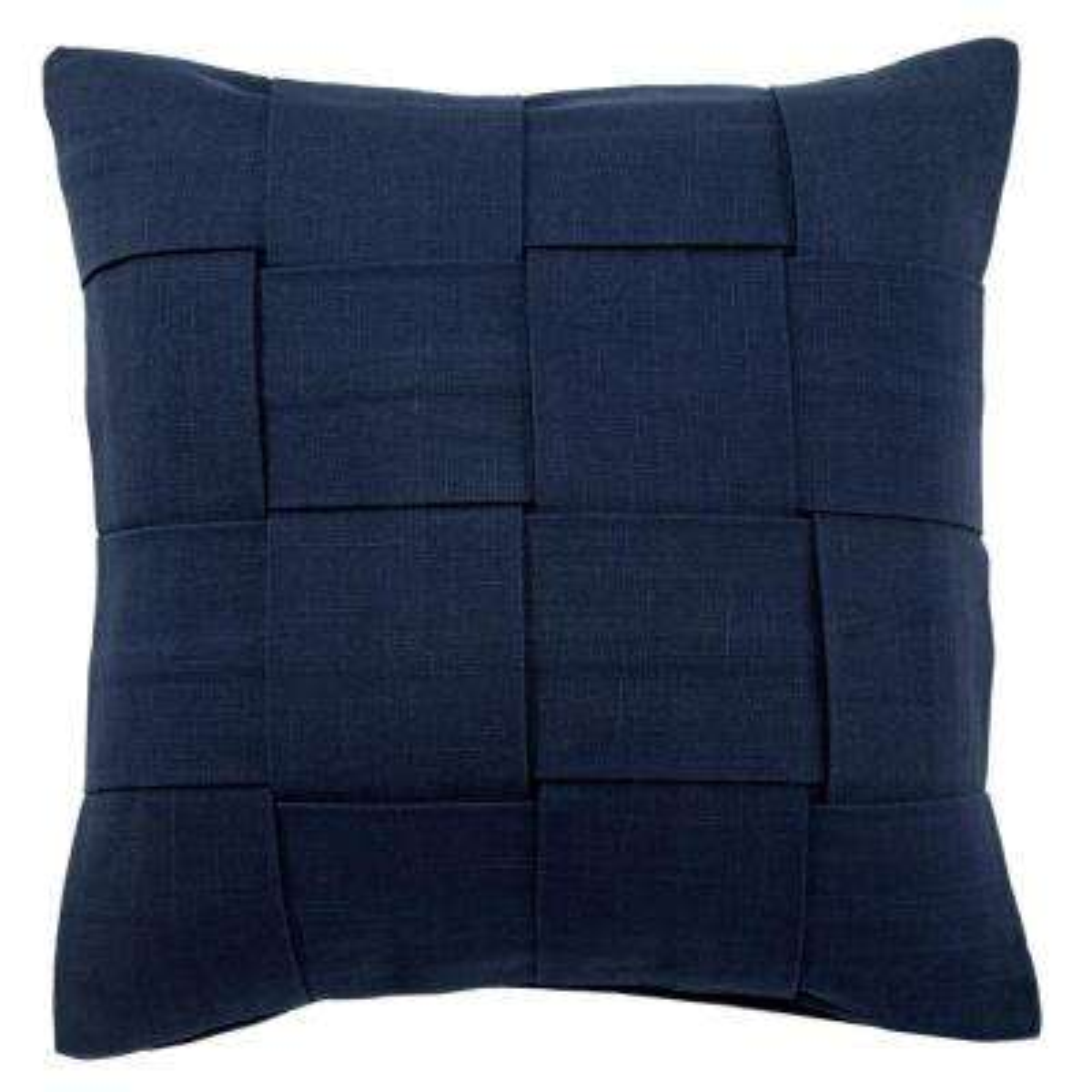 Tabby Twilight Blue Poly Decorative Pillow