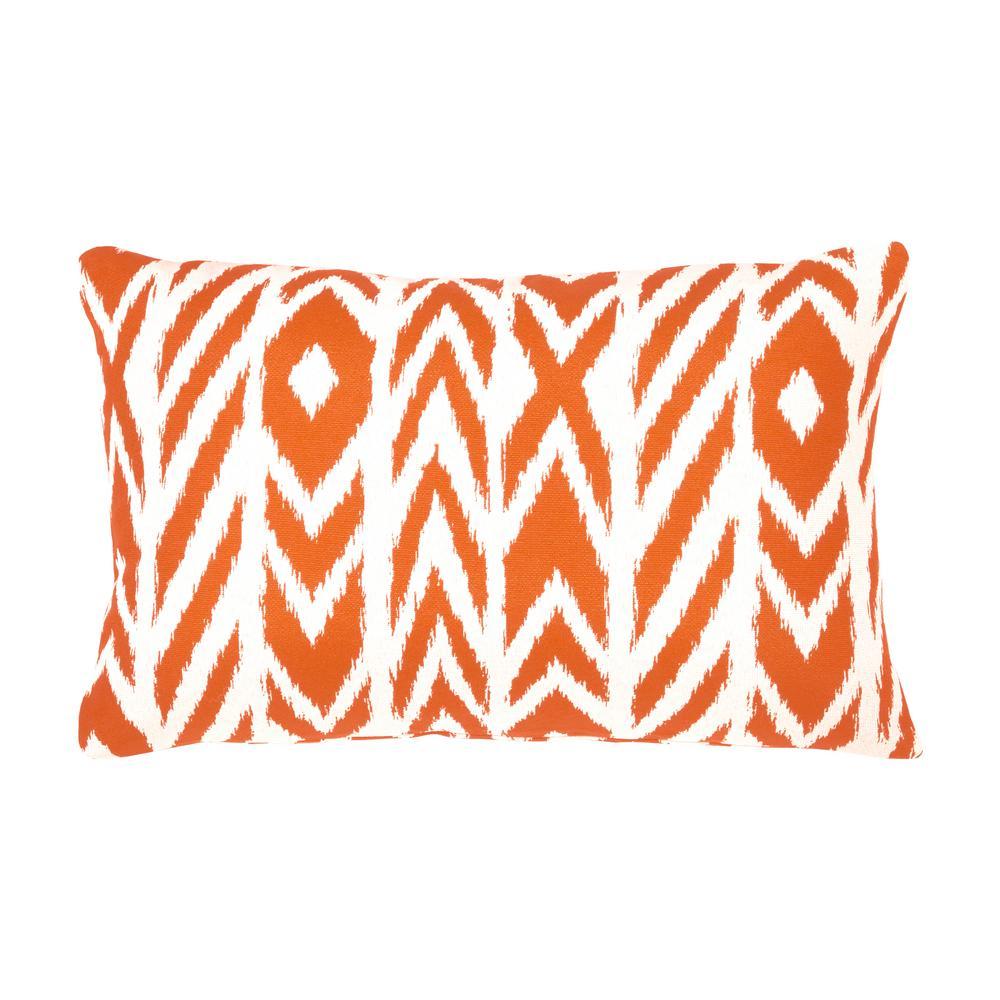 Fire Island Tuscan Lumbar Outdoor Accent Throw Pillow