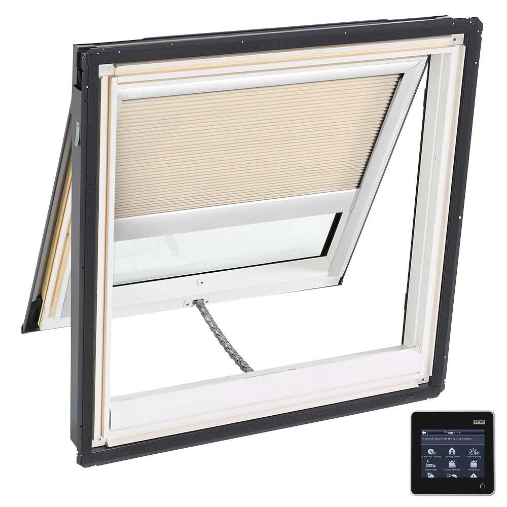 30-1/16 in. x 37-7/8 in. Venting Deck-Mount Skylight w/ Laminated Low-E3