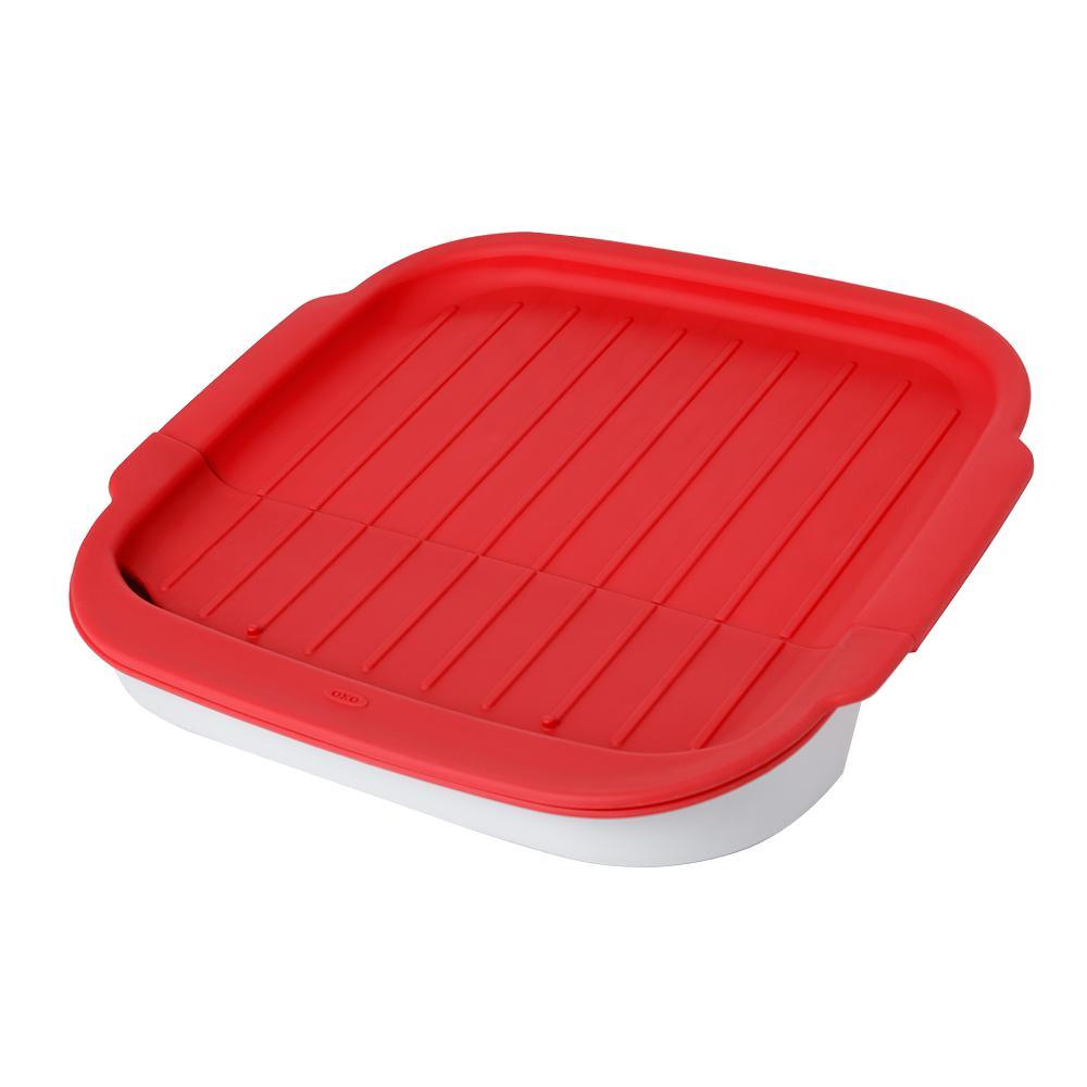 Good Grips Microwave Bacon Crisper with Adjustable Kickstand
