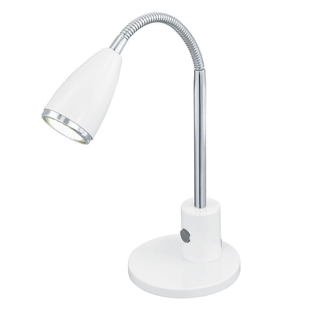 Fox 9 in. White Desk Lamp