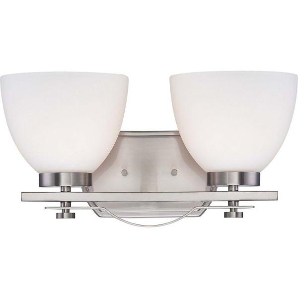 Light Brushed Nickel Vanity Fixture
