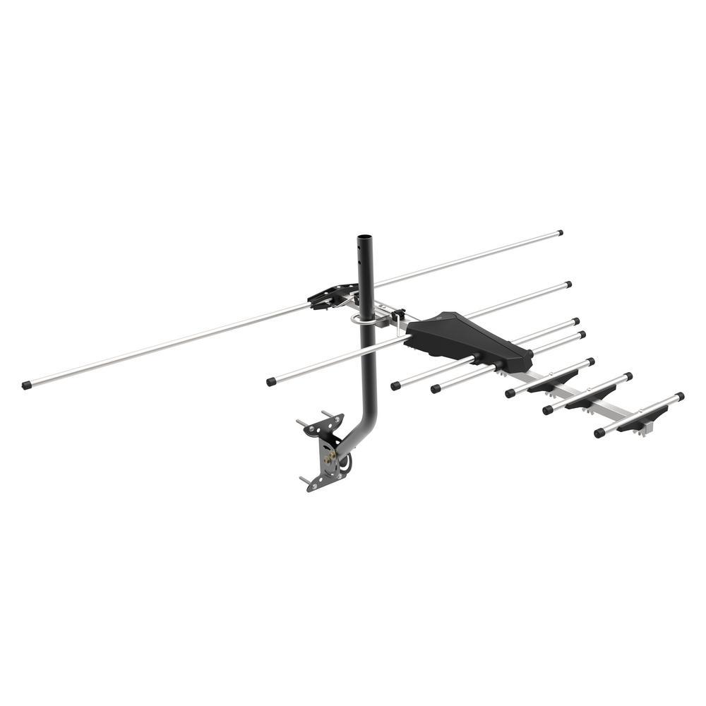 GE Pro Outdoor Yagi Antenna, 70-Mile Range