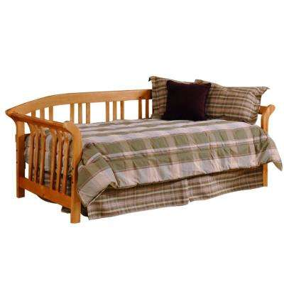 Dorchester Brown Cherry Day Bed with Suspension Deck and Trundle