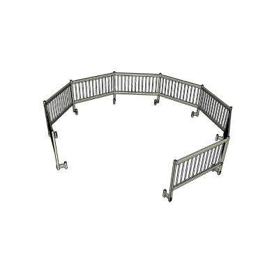 Above Ground Pool Safety Fence Add on Kit C (2 Fence Sections)