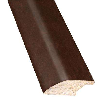 Maple Bronze 3/4 in. Thick x 2-1/4 in. Wide x 78 in. Length Hardwood Lipover Reducer Molding