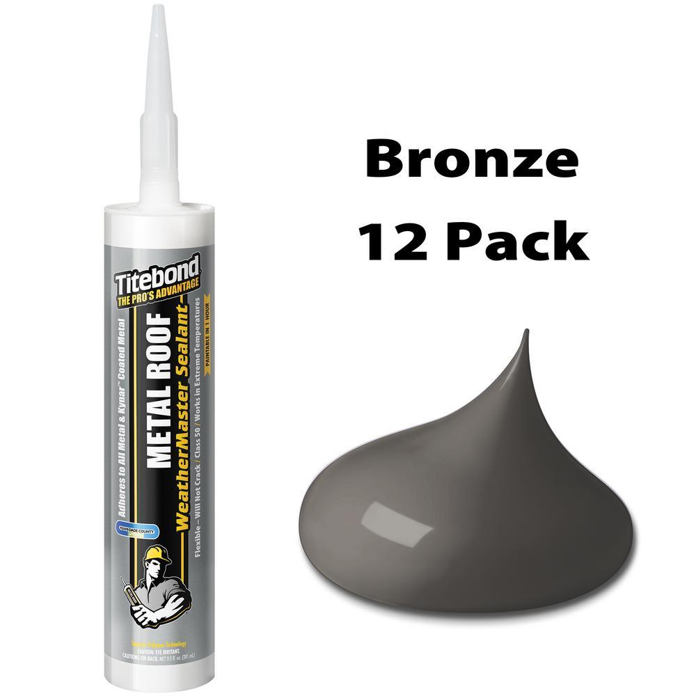 10.1 oz. Metal Roof Off Bronze Sealant (12-Pack)