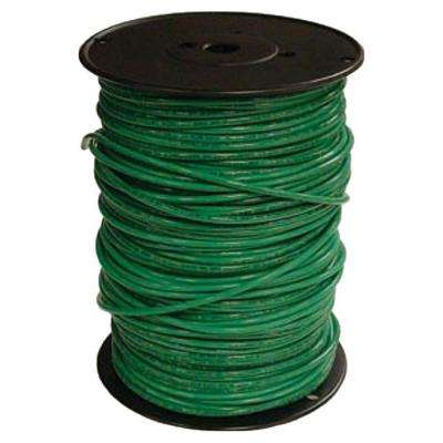 500 ft. 10 Green Solid CU THHN Wire