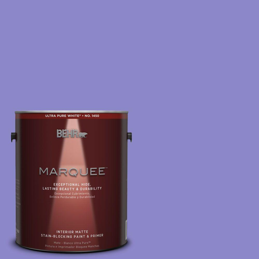 BEHR MARQUEE 1 gal. #MQ4-29 Brocade One-Coat Hide Matte Interior Paint