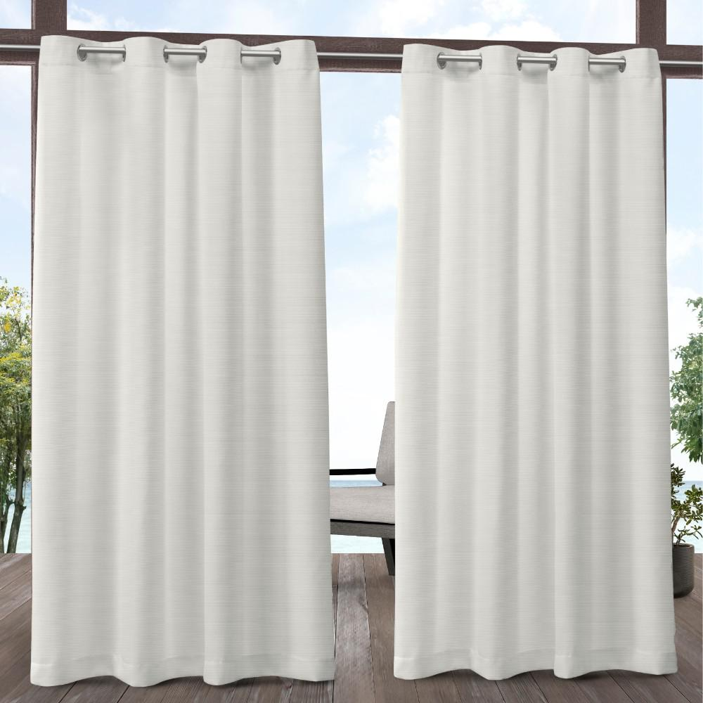 Exclusive Home Curtains Delano 54 In W X 84 In L Indoor Outdoor