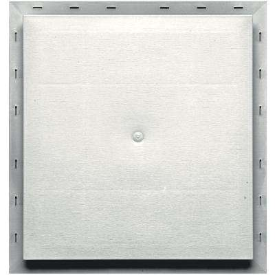 15.5 in. x 16.5 in. #123 White Meter Mounting Block