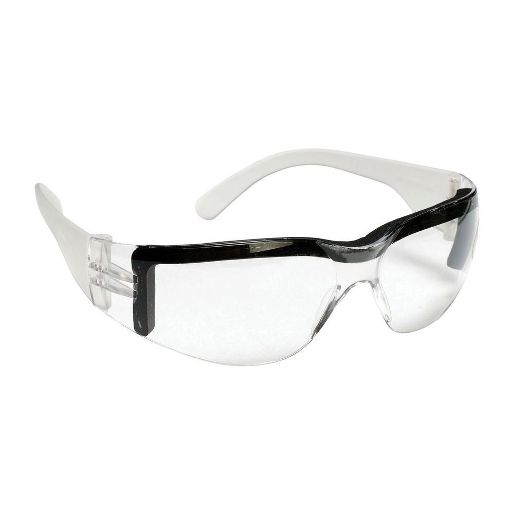 Cordova BULLDOG Safety Glasses Single Wrap Around Clear Anit Fog Lens with Soft Foam Seal