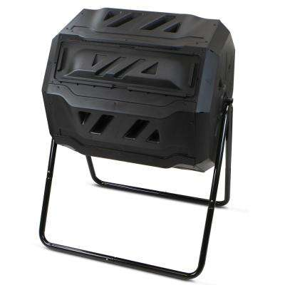 37 Gal. Barton Tumbler Composter in Black