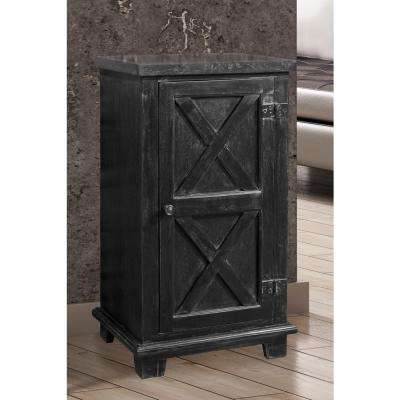 Bellefonte Black Storage Cabinet