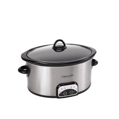 Smart-Pot 6 Qt. Programmable Stainless Steel Slow Cooker