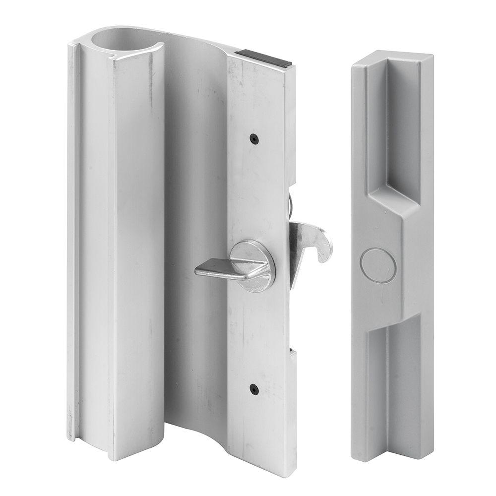 Prime-Line 3-1/2 in. Aluminum Hole Centers Sliding Door Handle