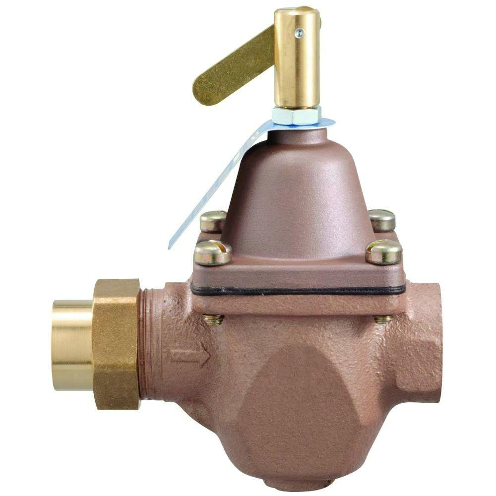 1 2 in cast brass fip x sweat water pressure regulator for H2o power x
