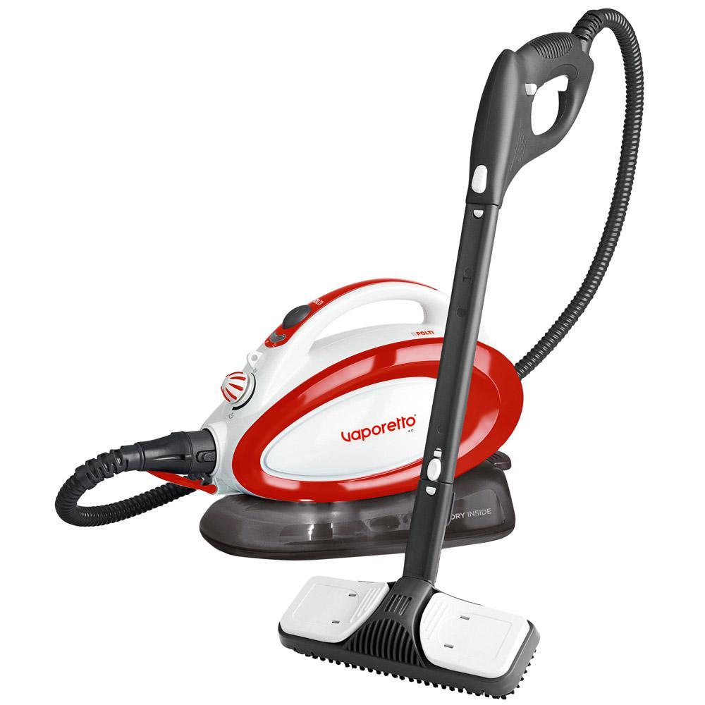 Polti vaporetto go red multi surface steam cleaner for Vaporetto portatile