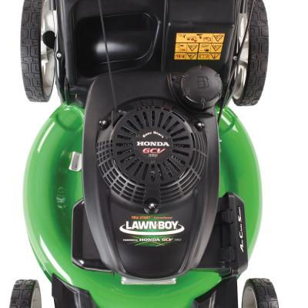 21 in. Honda Engine High Wheel Push Walk Behind Gas Lawn Mower
