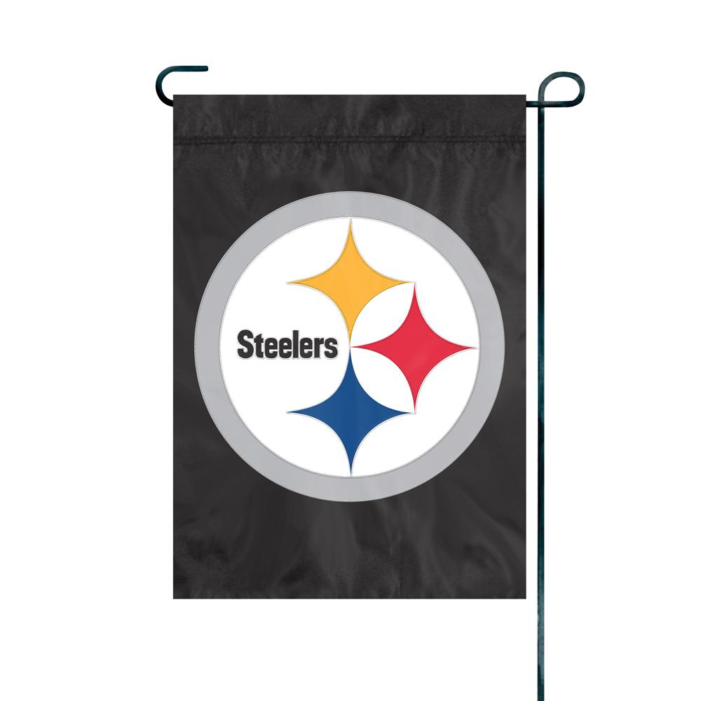 Attirant Party Animal, Inc. Pittsburgh Steelers Premium Garden Flag