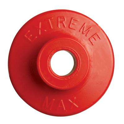 Round Plastic Backers - Red (Pack of 24)