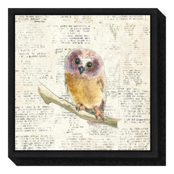 Amanti Art ''Into the Woods II no Border (Owl)'' by Emily