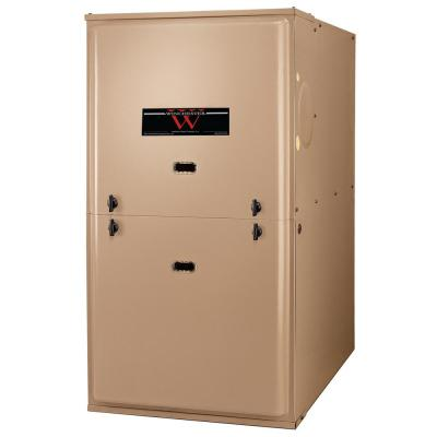 60,000 BTU 80% Efficient Single Stage Forced-Air Multi-Positional Residential Gas Furnace with ECM Blower Motor