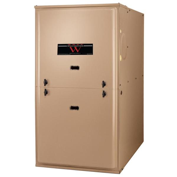 100,000 BTU 80% Efficient Residential Multi-Positional Single Stage Gas Furnace with ECM Blower Motor