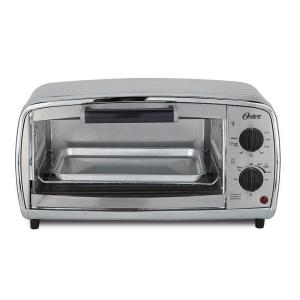 Oster 4-Slice Stainless Toaster Oven by Oster