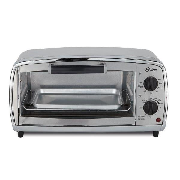 Oster 4-Slice Stainless Toaster Oven