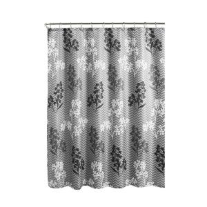 Creative Home Ideas Diamond Weave Textured 70 inch W x 72 inch L Shower Curtain with Metal... by Creative Home Ideas