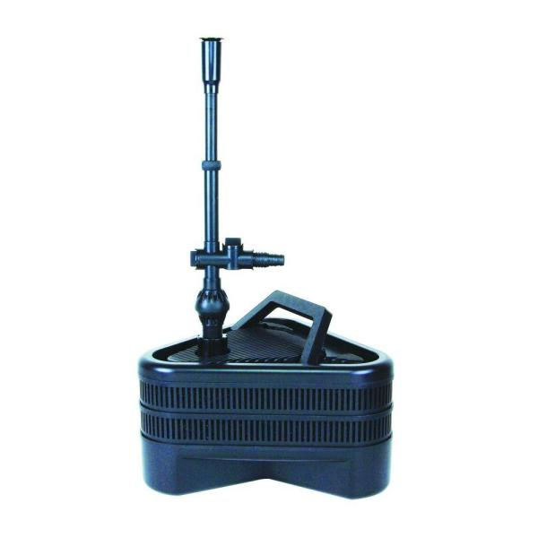 All-in-One Double 758 GPH Pond Filter with UV