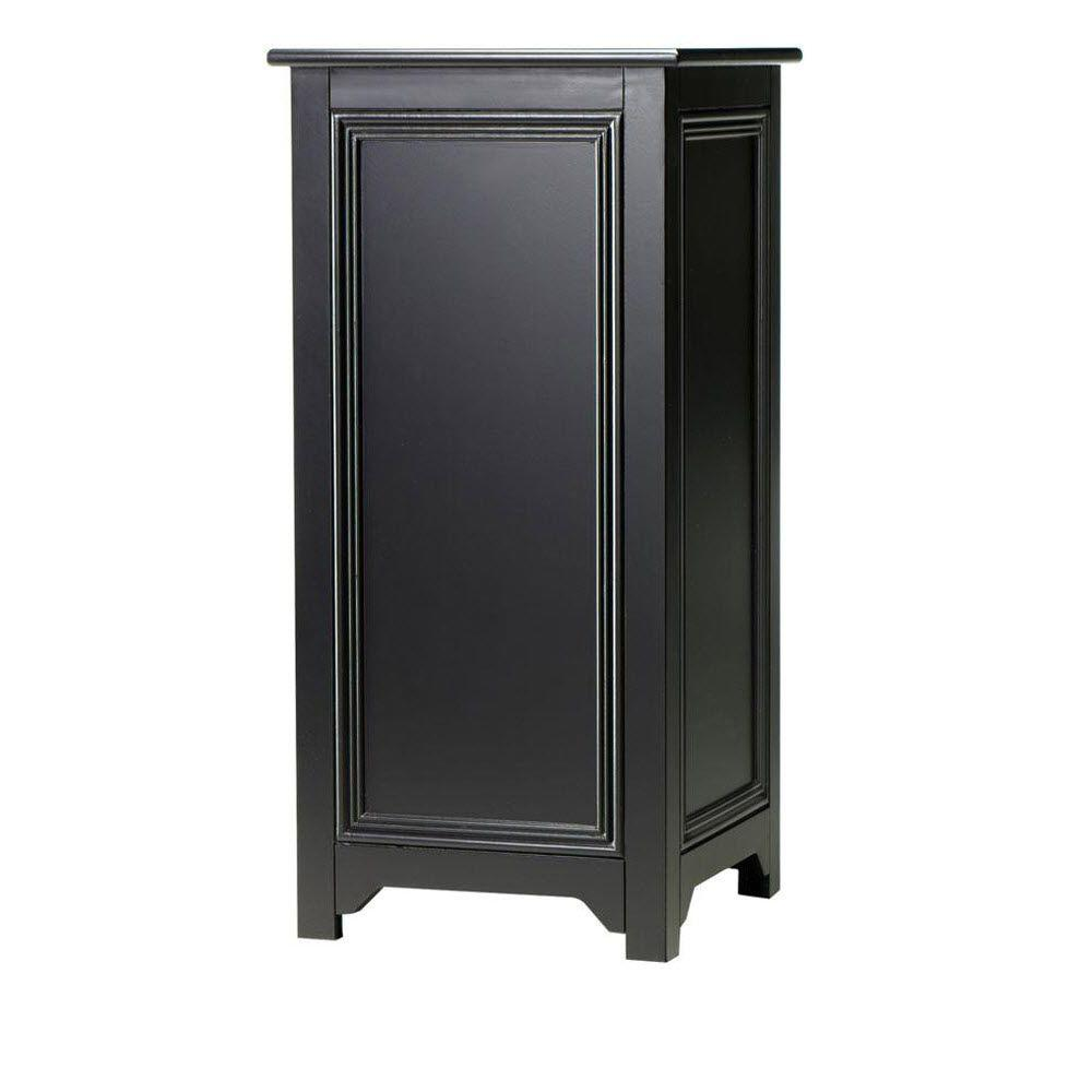 Home Decorators Collection Oxford 30 in. H Black Pedestal