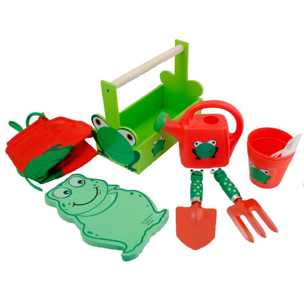 Ray Padula Deluxe Kids Gardening Tool Set with Apron