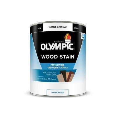 1-qt. English Chestnut Semi-Transparent Water-Based Interior Wood  Stain