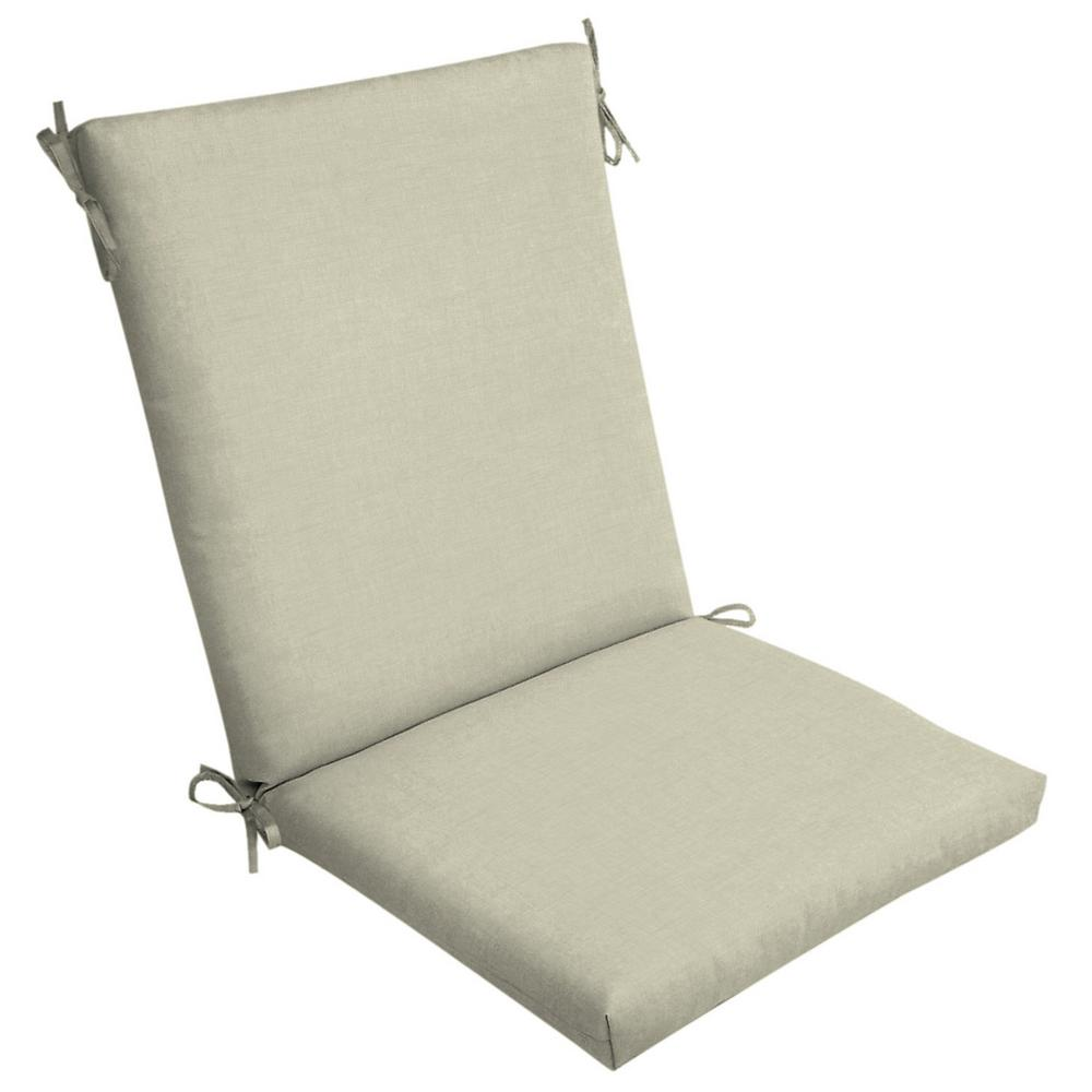 Arden Selections 20 X 20 New Tan Leala Texture High Back Outdoor