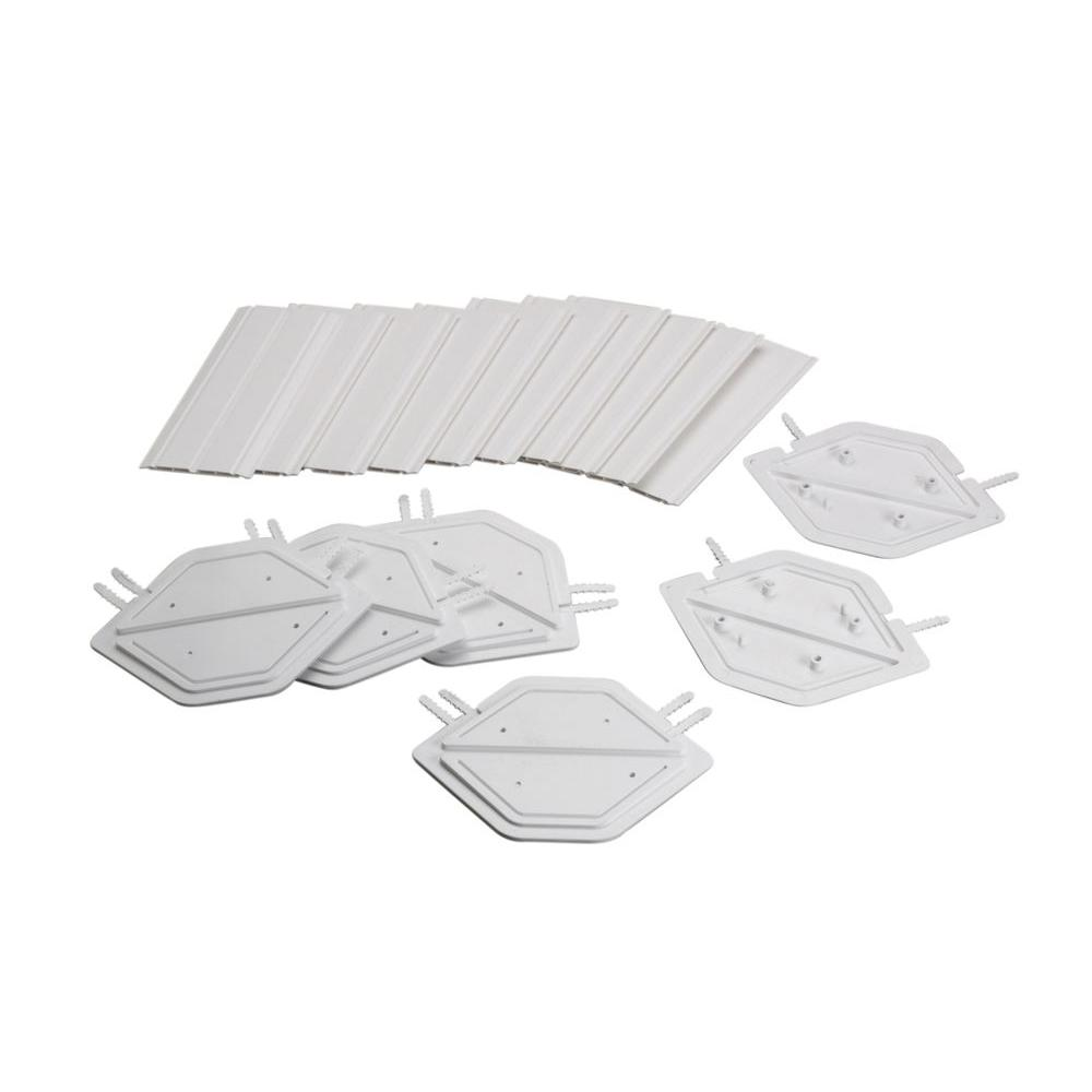 pittsburgh corning provantage glass block hedron spacers 5pack