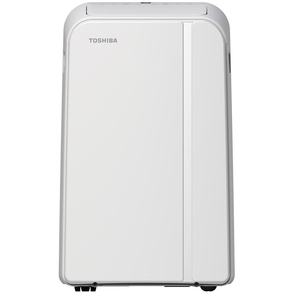 Toshiba 14,000 BTU (9,000 BTU, DOE) 115-Volt Smart Wi-Fi Portable Air Conditioner with Dehumidifier and Remote Toshiba 14,000 BTU (9,000 BTU, DOE) 115-Volt Smart Wi-Fi Portable Air Conditioner with Dehumidifier and Remote