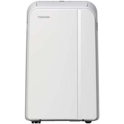 14,000 BTU (9,000 BTU, DOE) 115-Volt Smart Wi-Fi Portable Air Conditioner with Dehumidifier and Remote