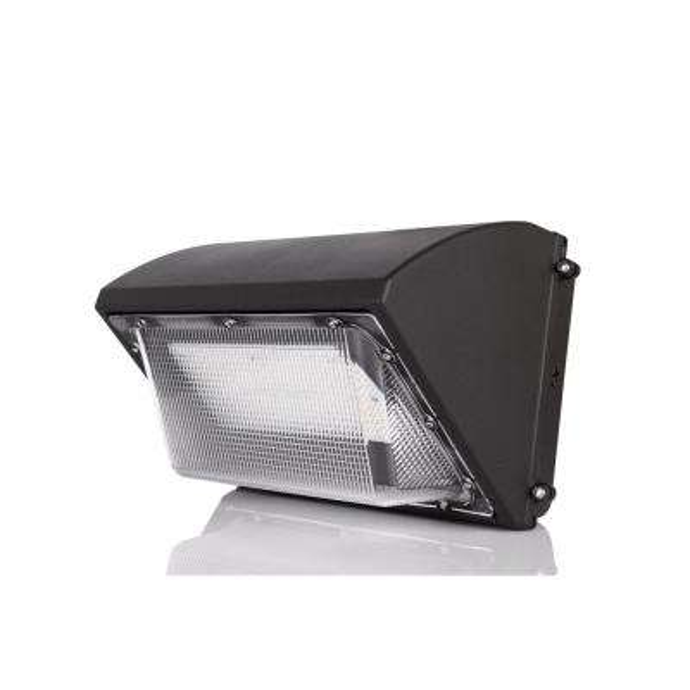 675-Watt Equivalent Integrated LED Black Outdoor IP65 Waterproof Wall Pack Light, 5000K