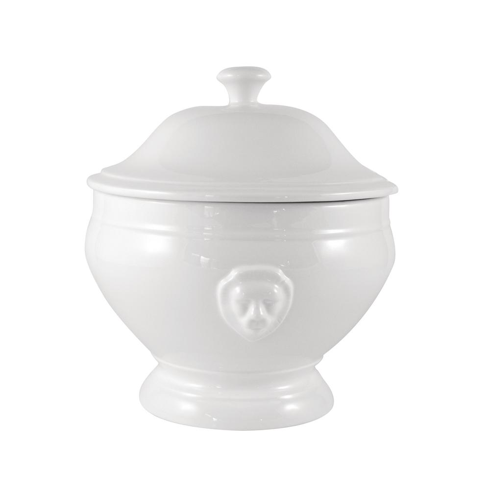 maxwell williams white basics lion soup tureen 2 8 l gift boxed p0428 the home depot. Black Bedroom Furniture Sets. Home Design Ideas