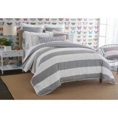 Cabana Stripe Embroidered Arrows King Sham