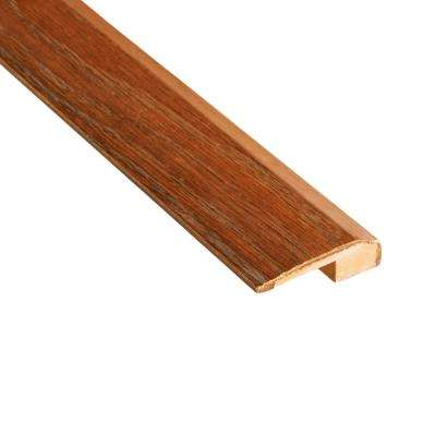 Bronze Acacia 3/8 in. Thick x 2-1/8 in. Wide x 78 in. Length Carpet Reducer Molding