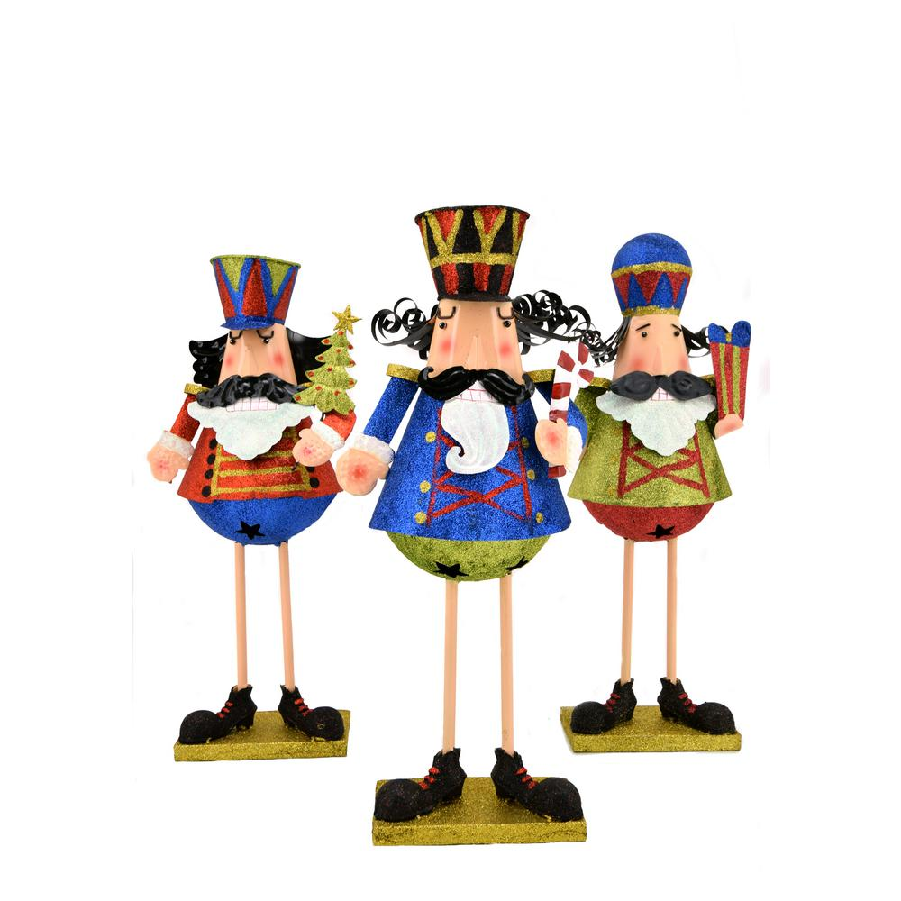 Zaer Ltd. International Set of 3 2 ft. Christmas Nutcrackers ...