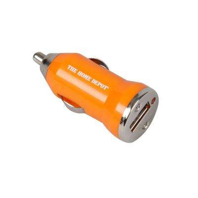 2.25 in. 12-24 Volt DC Input Car USB Charger