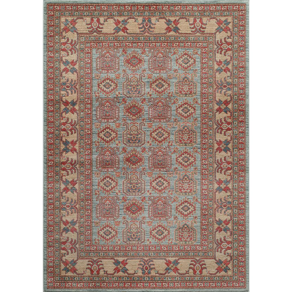 Oriental Rugs Grand Rapids: Momeni Ghazni Light Blue 2 Ft. X 3 Ft. Indoor Area Rug
